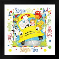 Rhyme time: Framed Art Print by P.S. Art Studios