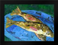 Catch: Framed Art Print by Wingard, Pamela J.