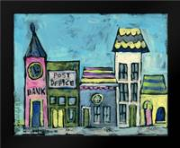 Vine Street: Framed Art Print by Wingard, Pamela J.