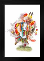 Native Rhythm: Framed Art Print by Murdock, Ramona