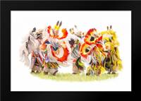 Native Color in Motion: Framed Art Print by Murdock, Ramona
