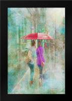 Rainy in Paris I: Framed Art Print by Murdock, Ramona