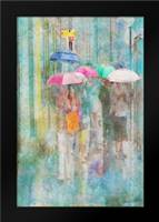 Rainy in Paris II: Framed Art Print by Murdock, Ramona