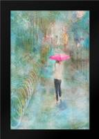 Rainy in Paris III: Framed Art Print by Murdock, Ramona