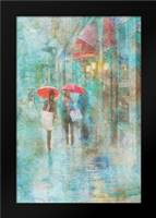 Rainy in Paris IV: Framed Art Print by Murdock, Ramona