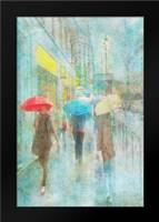 Rainy in Paris V: Framed Art Print by Murdock, Ramona