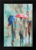 Rainy in Paris VI: Framed Art Print by Murdock, Ramona