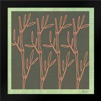 Bamboo Pattern: Framed Art Print by Welsh, Shanni