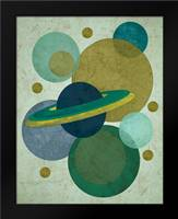 Planets I: Framed Art Print by Welsh, Shanni
