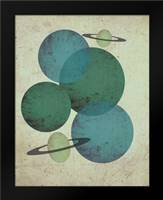 Planets II: Framed Art Print by Welsh, Shanni