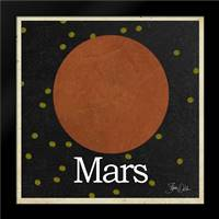Mars: Framed Art Print by Welsh, Shanni