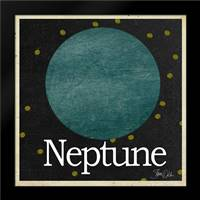 Neptune: Framed Art Print by Welsh, Shanni
