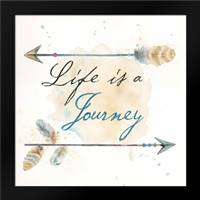 Life Journey I: Framed Art Print by Coulter, Cynthia