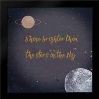 Shine Brighter: Framed Art Print by Kushnir, Tammy