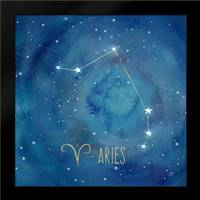 Star Sign Aries: Framed Art Print by Coulter, Cynthia