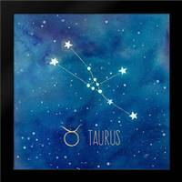 Star Sign Taurus: Framed Art Print by Coulter, Cynthia