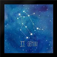 Star Sign Gemini: Framed Art Print by Coulter, Cynthia