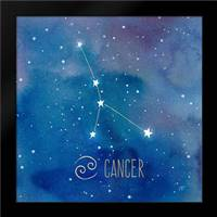 Star Sign Cancer: Framed Art Print by Coulter, Cynthia