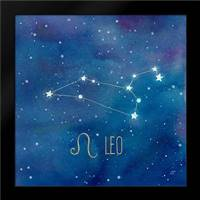 Star Sign Leo: Framed Art Print by Coulter, Cynthia