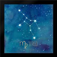 Star Sign Virgo: Framed Art Print by Coulter, Cynthia