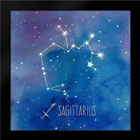 Star Sign Sagittarius: Framed Art Print by Coulter, Cynthia