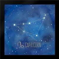 Star Sign Capricorn: Framed Art Print by Coulter, Cynthia
