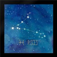 Star Sign Pisces: Framed Art Print by Coulter, Cynthia