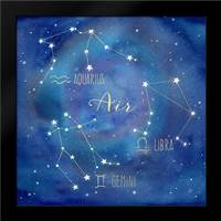 Star Sign Air: Framed Art Print by Coulter, Cynthia