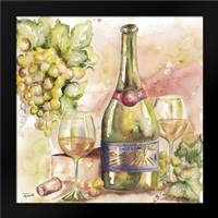 Watercolor Wine II: Framed Art Print by Tre Sorelle Studios