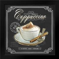 Coffee House Cappuccino: Framed Art Print by Barrett, Chad