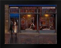 Fifth Avenue Cafe 1: Framed Art Print by Lynch, Brent