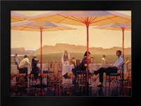 Winery Terrace: Framed Art Print by Lynch, Brent