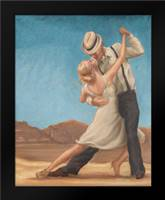 Dance Time: Framed Art Print by Amber, Zeph