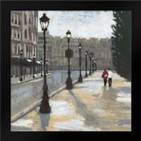 Cloudy Day in Paris 2: Framed Art Print by Wyatt, Norman Jr.