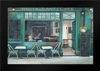 Cafe Impressions 1: Framed Art Print by Wyatt, Norman Jr.