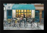Cafe Impressions 3: Framed Art Print by Wyatt, Norman Jr.