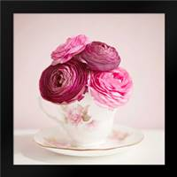 Tea Cup Posies: Framed Art Print by Susannah Tucker Photography