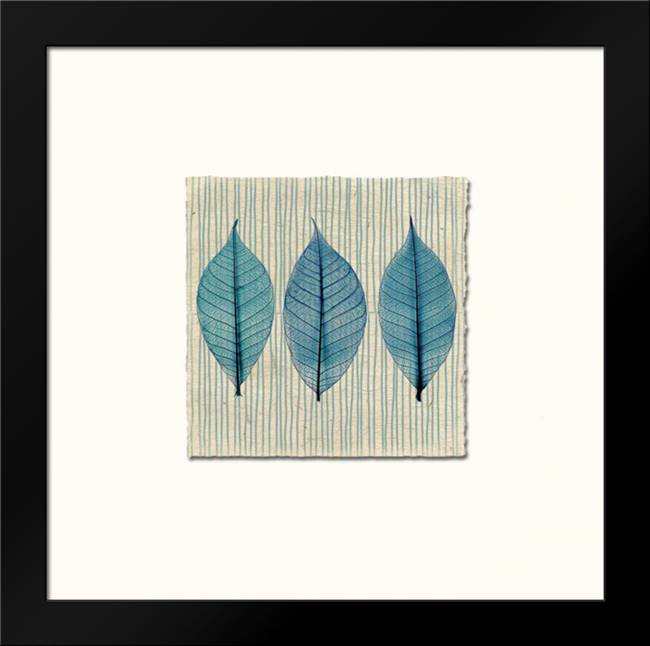 Handmade Paper and Leaves: Framed Art Print by Taylor, Evangeline