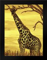Gentle giant: Framed Art Print by Blair, David
