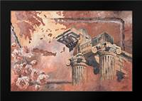 Pillars: Framed Art Print by Blair, David