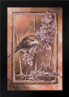 Forage II: Framed Art Print by Blair, David
