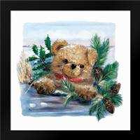 Winter Bear: Framed Art Print by Withaar, Rian