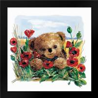 Summer Bear: Framed Art Print by Withaar, Rian