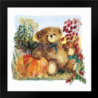 Autumn Bear: Framed Art Print by Withaar, Rian