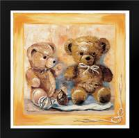 Bears: Framed Art Print by Withaar, Rian