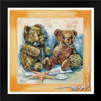 Beach bear: Framed Art Print by Withaar, Rian