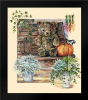 Garden party II: Framed Art Print by Withaar, Rian