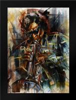 Miles: Framed Art Print by Fields, Wendy