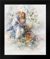 Spring: Framed Art Print by Haenraets, Willem