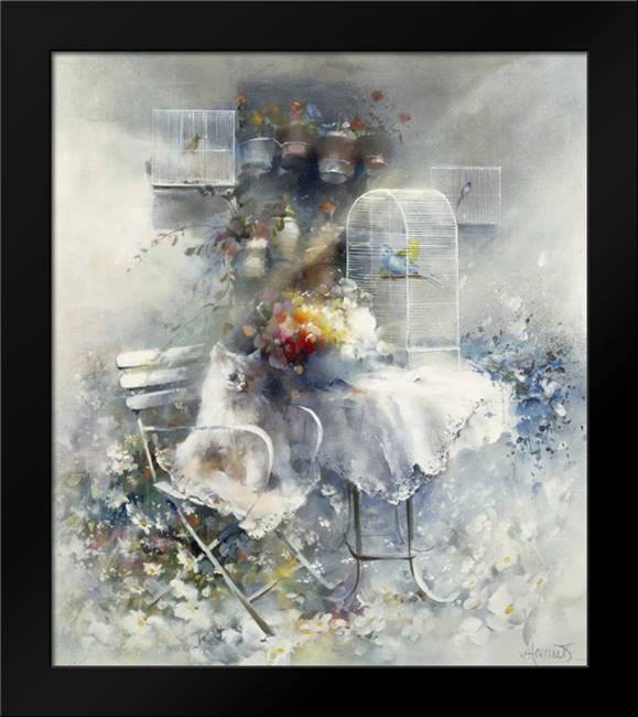 Happy ending: Framed Art Print by Haenraets, Willem